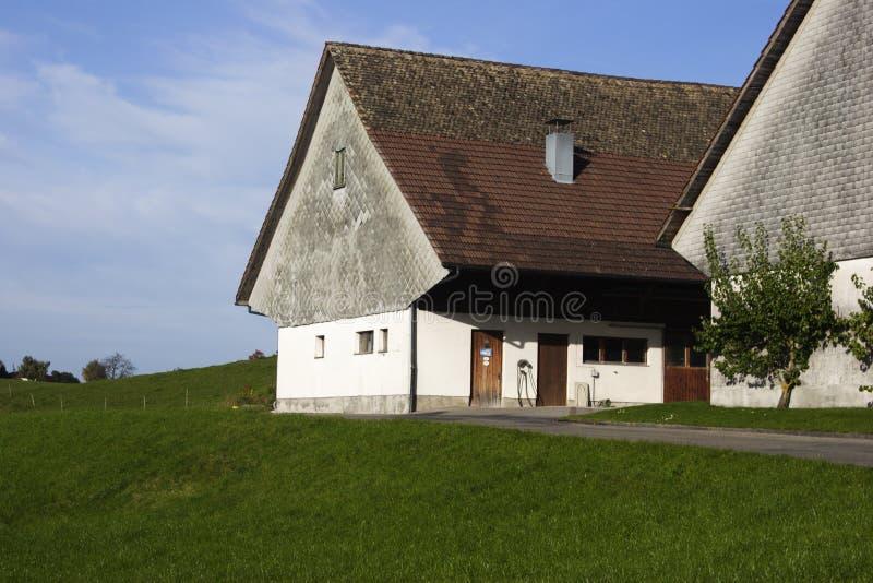 Download Schweizer Bauernhof III stockfoto. Bild von land, europa - 34158