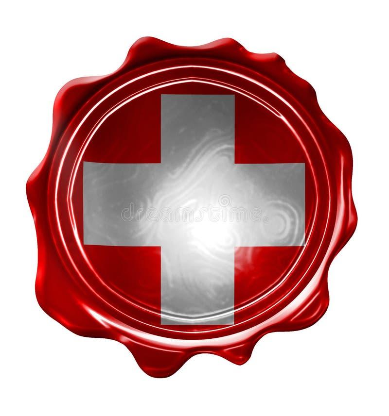 Schweizer Flagge vektor abbildung