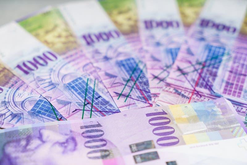 Schweizer Franc stockfoto