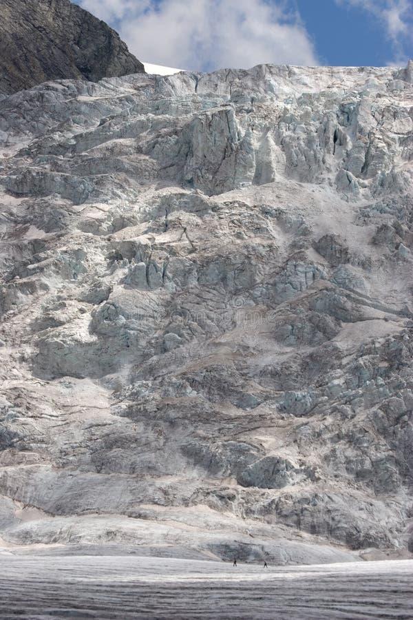 Schweizer Gletscher lizenzfreies stockfoto
