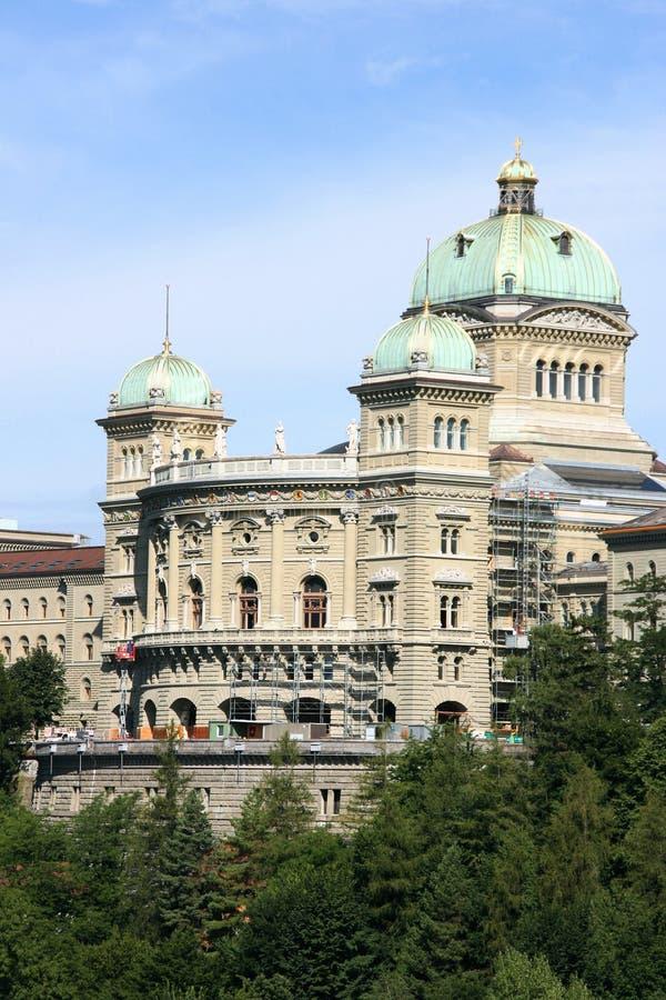 Schweizer Parlament stockbild