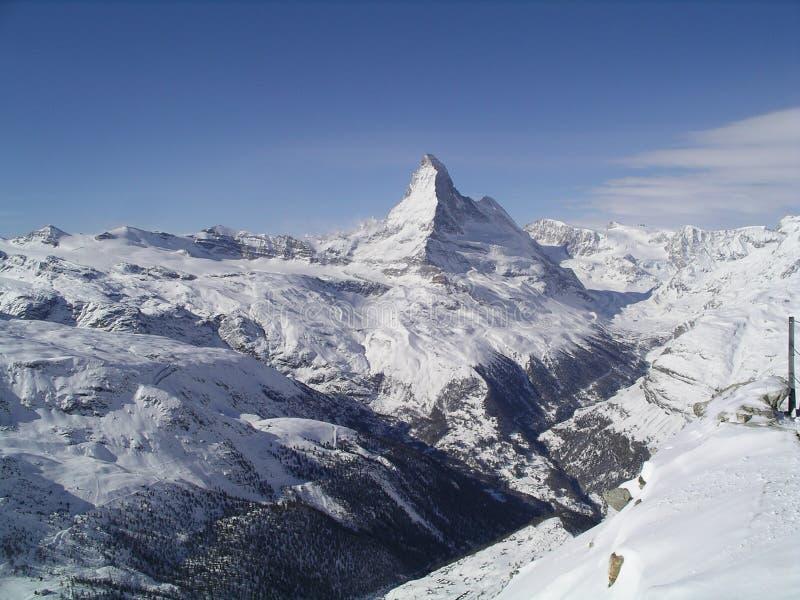 schweiziska alps royaltyfria foton