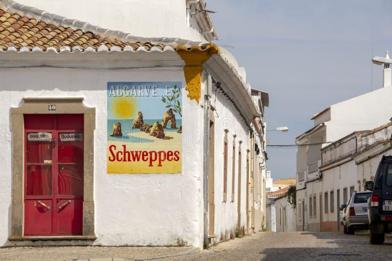Schweppes annonsering och Algarve fotografering för bildbyråer