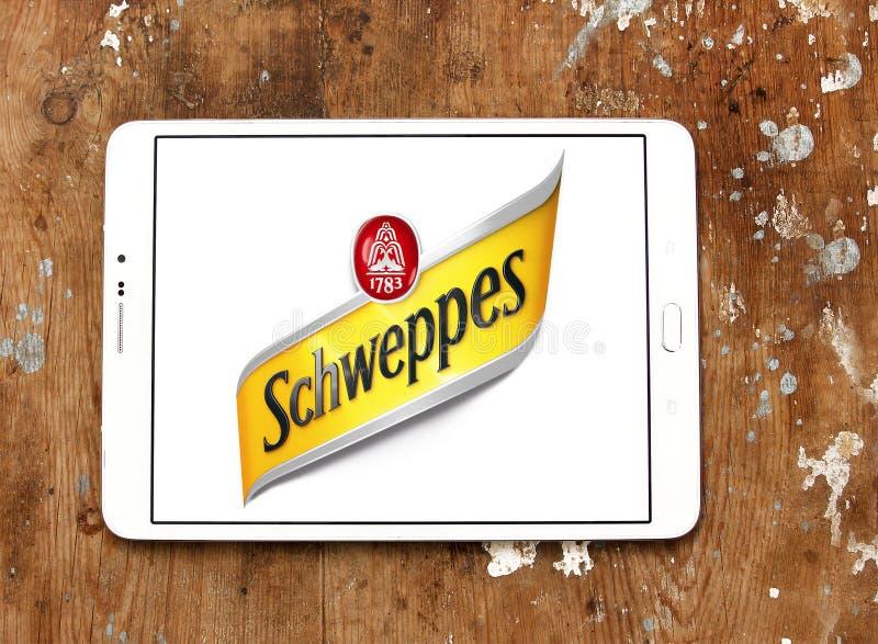 Schweppes logo arkivbild