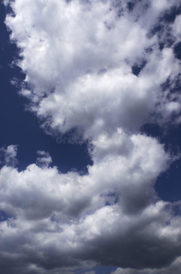 Schwere Wolken stockfoto