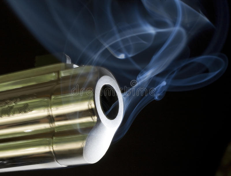 Schwerer Raucher stockbild