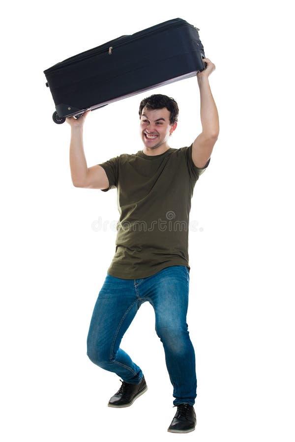 Schweres Gepäck stockfoto