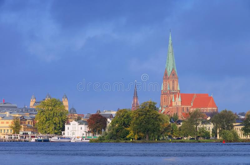 Download Schwerin stock photo. Image of building, blue, schwerin - 27668994