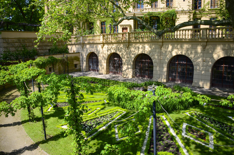 Schwerin Castle Garden royalty free stock photos