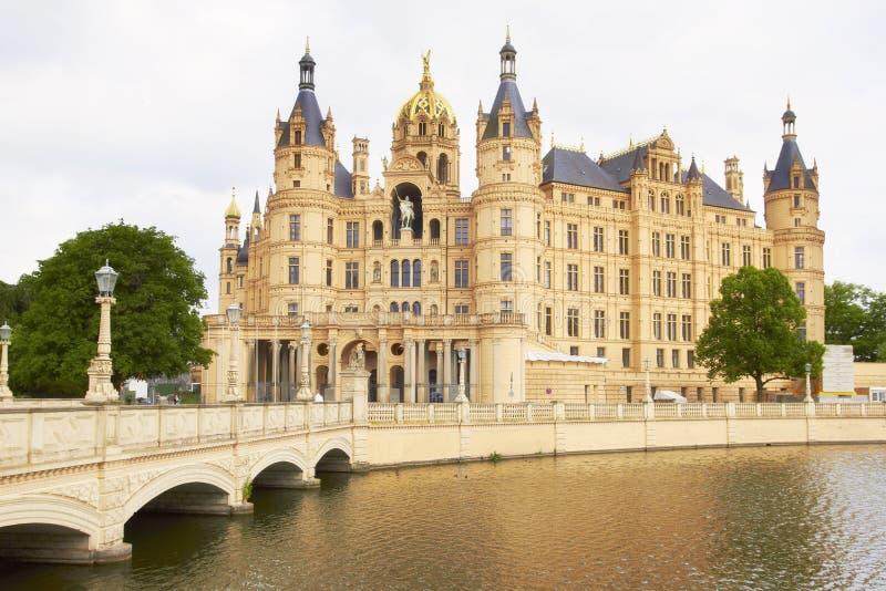 Schwerin Castle. Germany stock photo