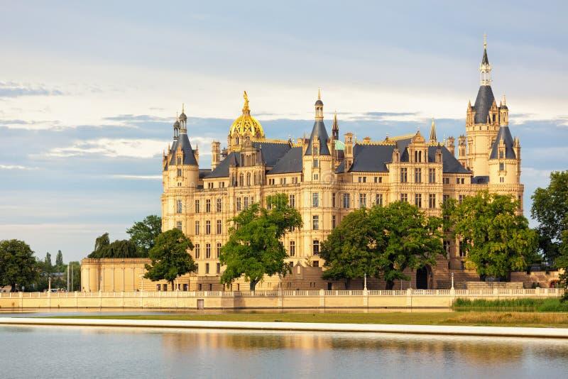 Schwerin kasztel zdjęcie royalty free