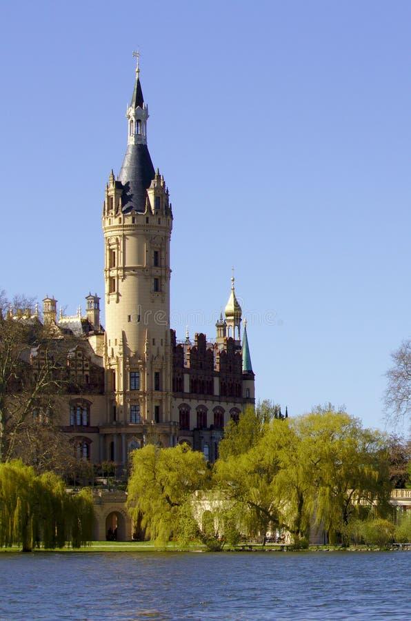 Schwerin kasztel fotografia royalty free