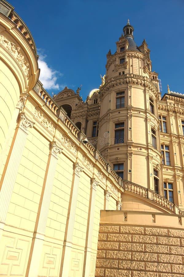 Schwerin kasztel II - majestatyczny - obraz royalty free