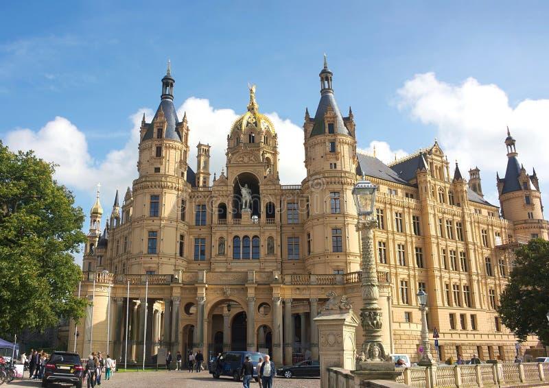 Schwerin kasztel III - majestatyczny - zdjęcie royalty free