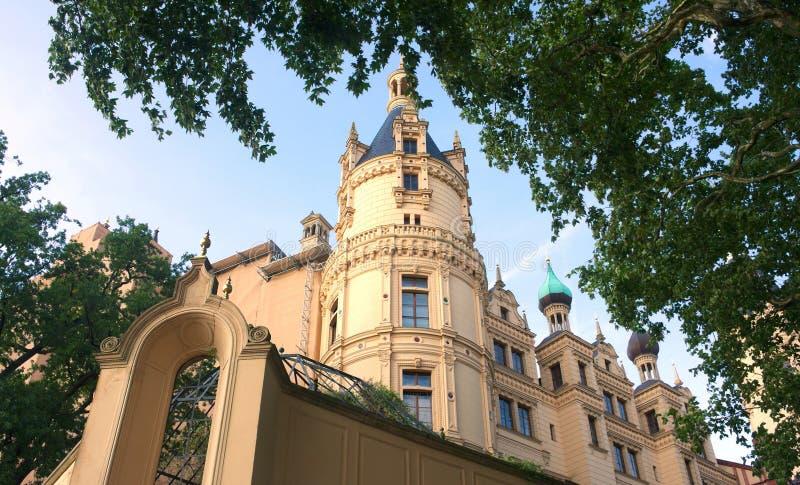Schwerin kasztel IV - majestatyczny - obrazy stock