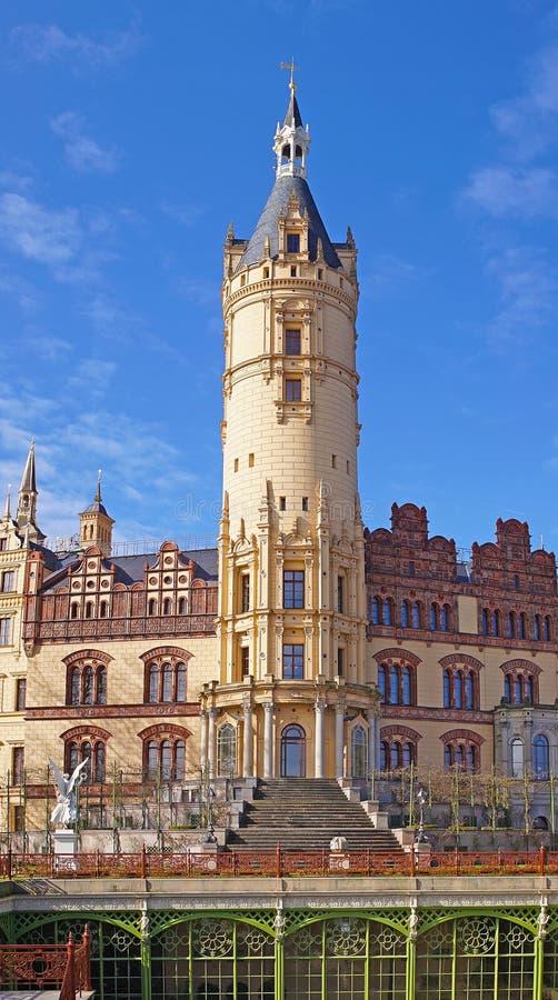 Schwerin kasztel, Mecklenburg Zachodni Pomerania, Niemcy obrazy stock