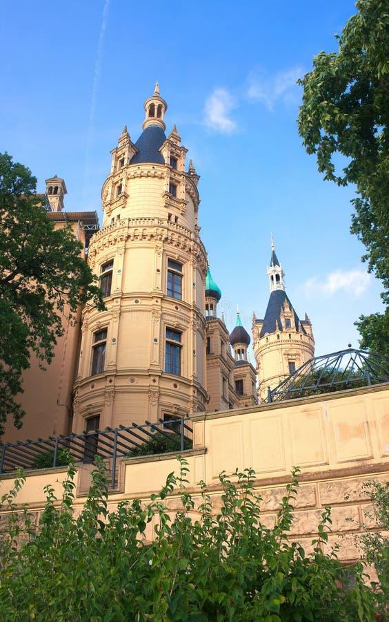 Schwerin kasztel VI - majestatyczny - obrazy royalty free
