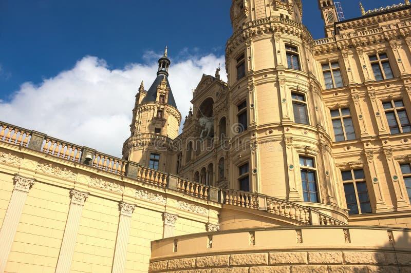 Schwerin kasztel VII - majestatyczny - zdjęcia royalty free