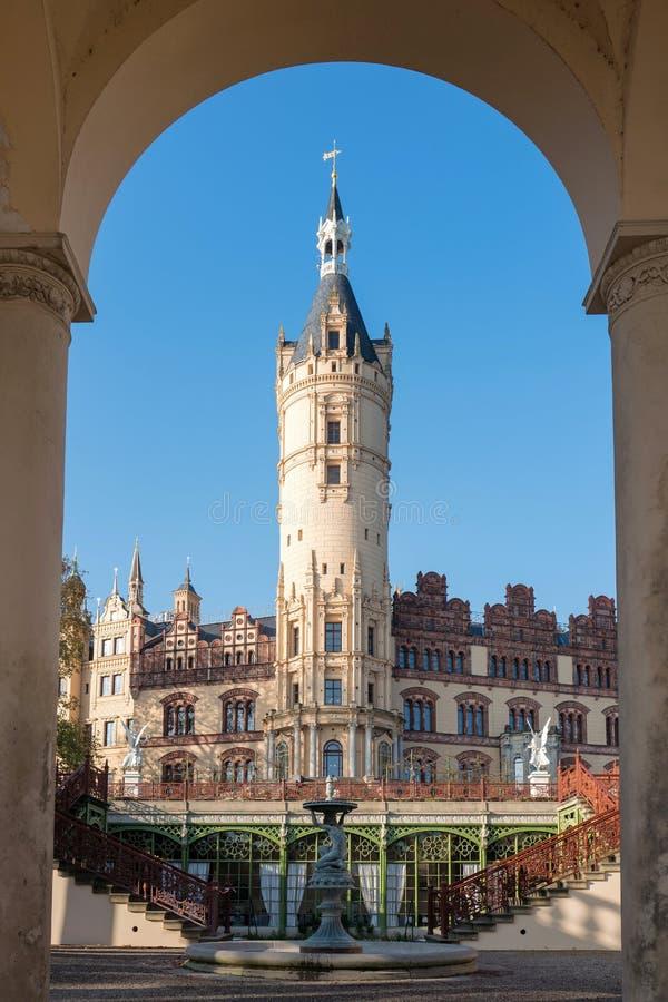 Schwerin pałac obraz stock