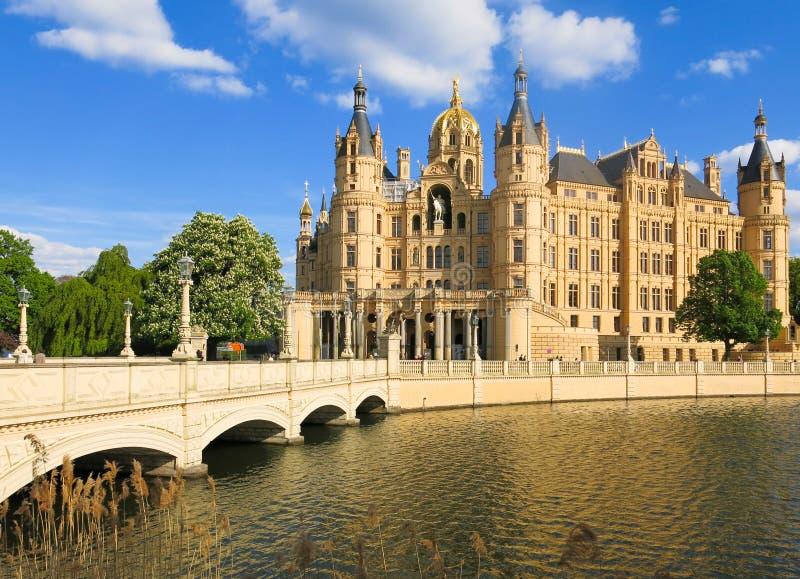 Schwerin Tyskland royaltyfri bild