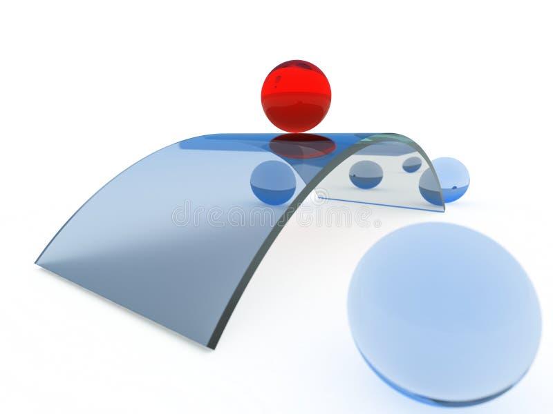 Schwerpunkt und Unterschied vektor abbildung
