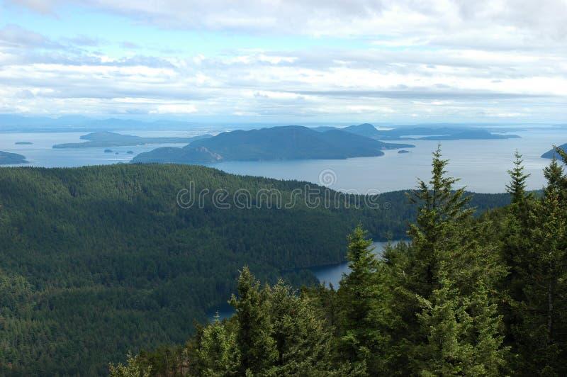Schwertwal-Insel-Landschaft lizenzfreie stockfotografie