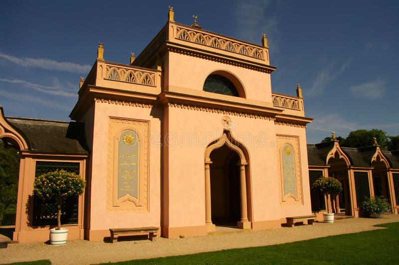 schwetzingen мечети Германии heidelberg замока стоковое изображение