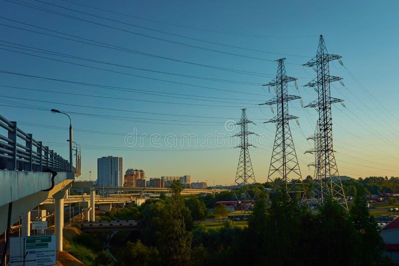 Schwieriges Stadtbild stockbilder
