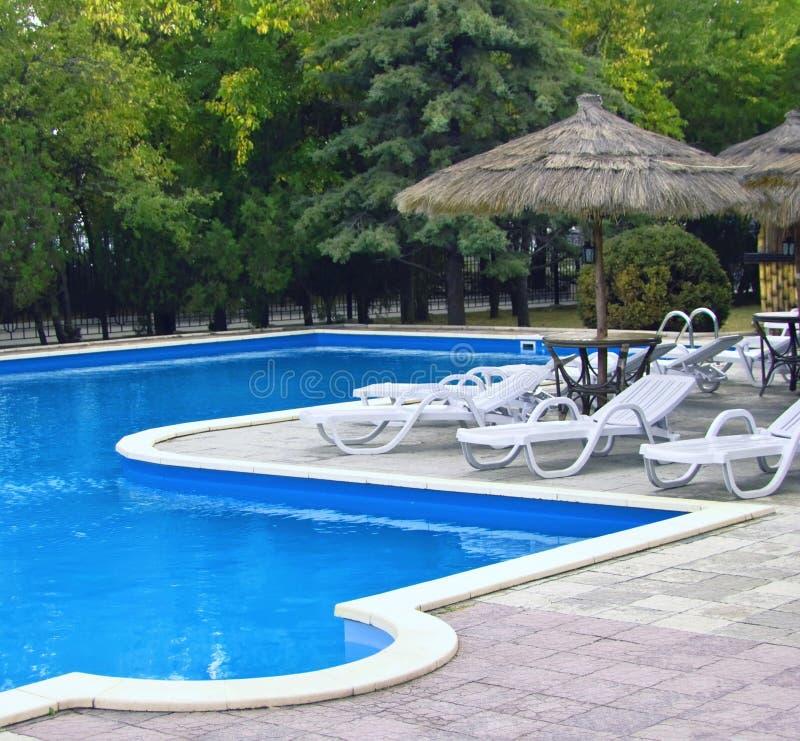 Schwimmbad lizenzfreies stockbild