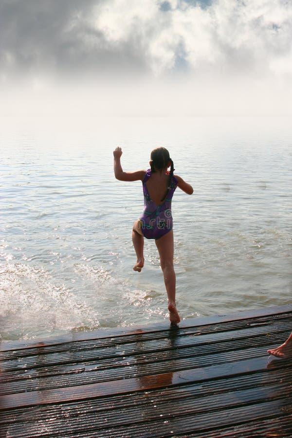 Schwimmen stockfotos