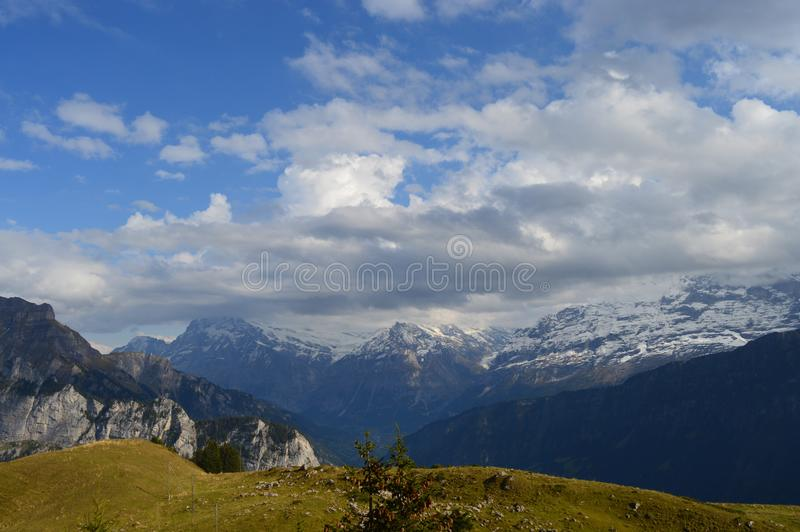 Schynige Platte images stock