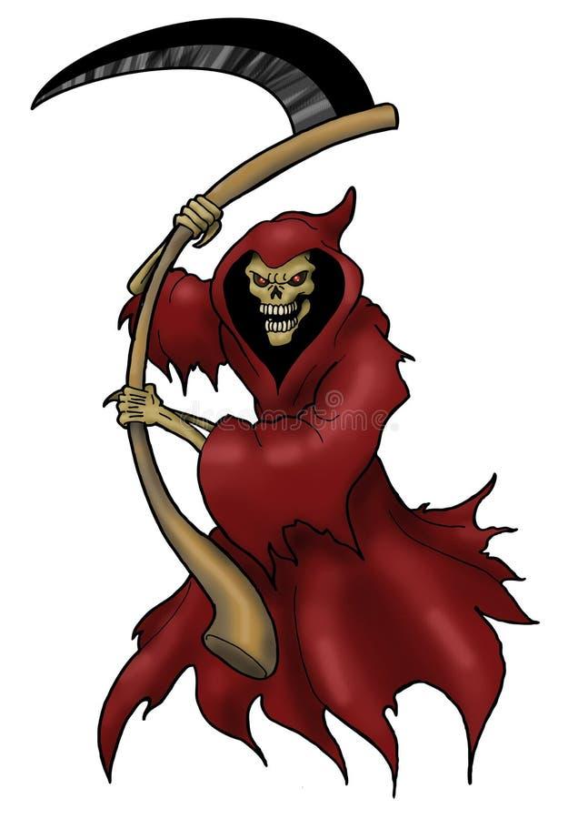 Schytes medonhos da morte ilustração royalty free