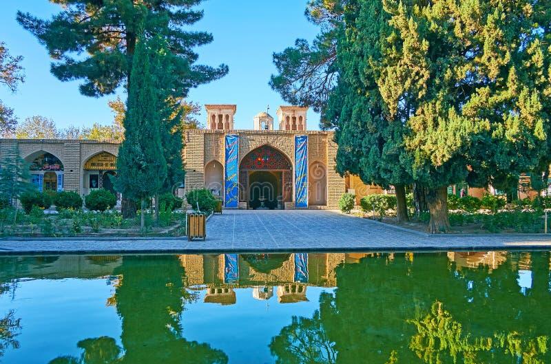 In scià Nematollah Vali Shrine, Mahan, Iran immagine stock