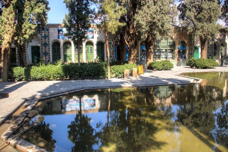 Scià Nematollah Vali Shrine in Mahan, Iran immagini stock libere da diritti