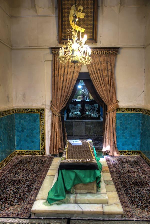 Scià Nematollah Vali Shrine in Mahan, Iran immagini stock