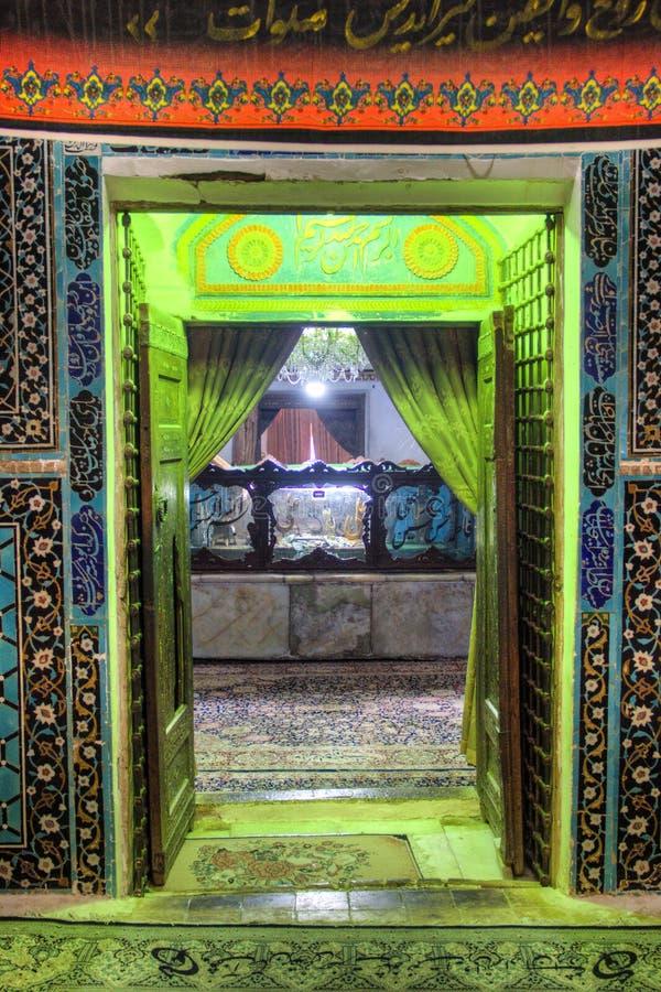 Scià Nematollah Vali Shrine in Mahan, Iran immagine stock libera da diritti