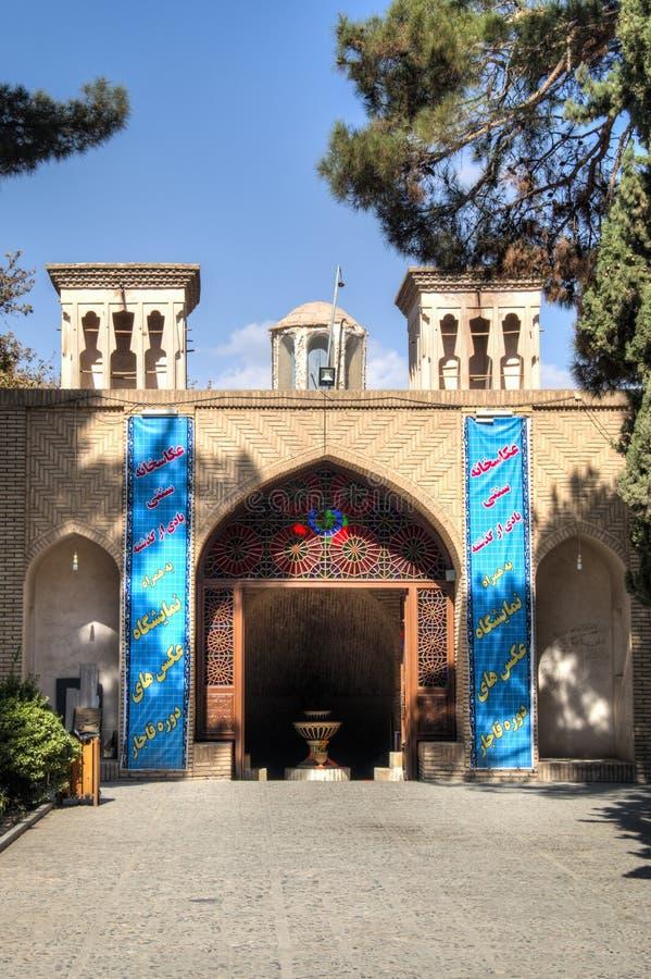 Scià Nematollah Vali Shrine in Mahan, Iran fotografia stock