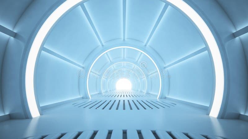 sci fi корридора стоковые фотографии rf