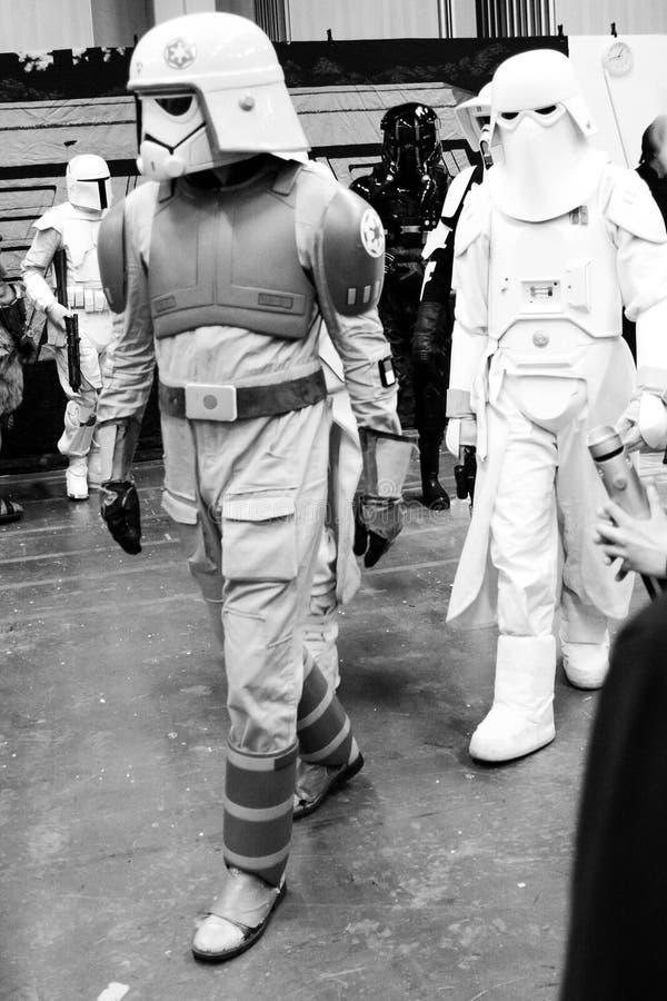 Sci fi convention in Gothenburg the walk around stock photo