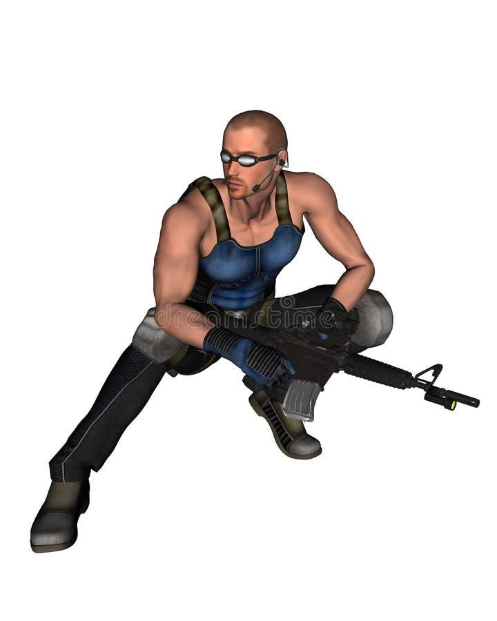 Free Sci-Fi Mercenary - 2 Royalty Free Stock Photography - 5358237