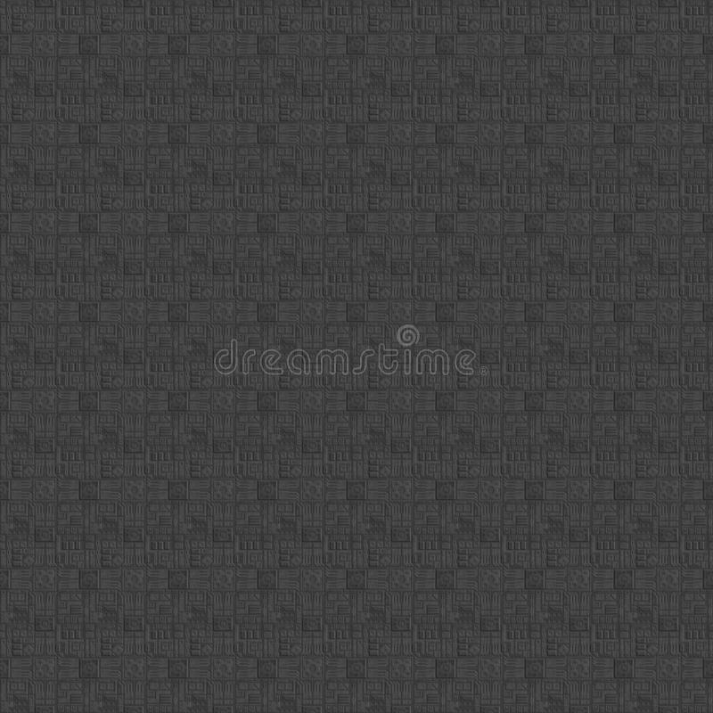 Sci-fi tileable seamless texture computer graphics royalty free stock photo
