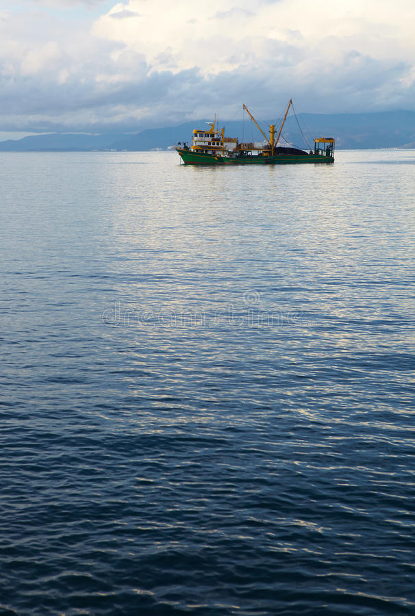 Sciabica di pesca fotografia stock libera da diritti