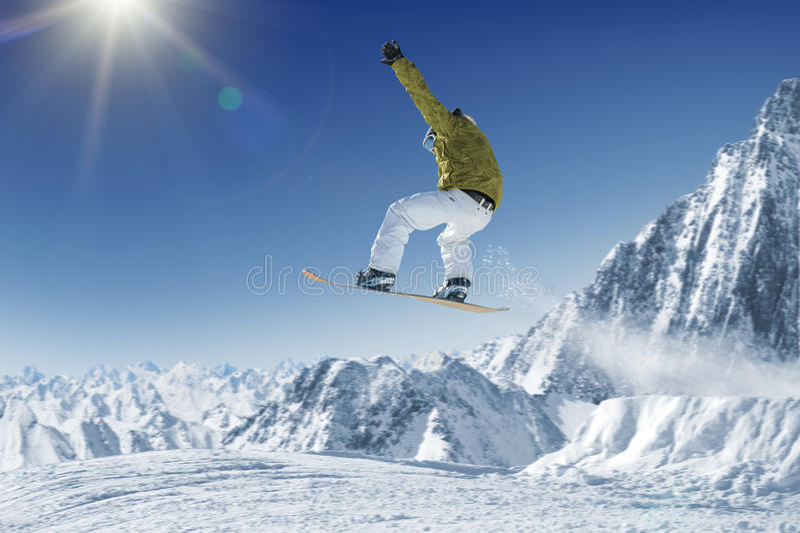 Sciatore immagine stock libera da diritti