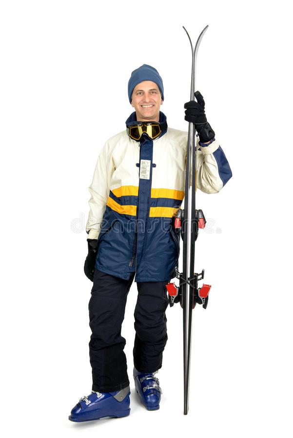 Sciatore immagini stock libere da diritti