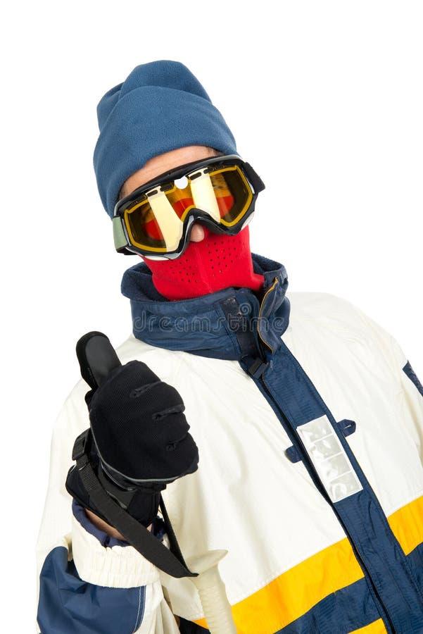 Sciatore fotografie stock libere da diritti