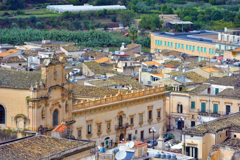 Scicli Sicile Italie photographie stock libre de droits