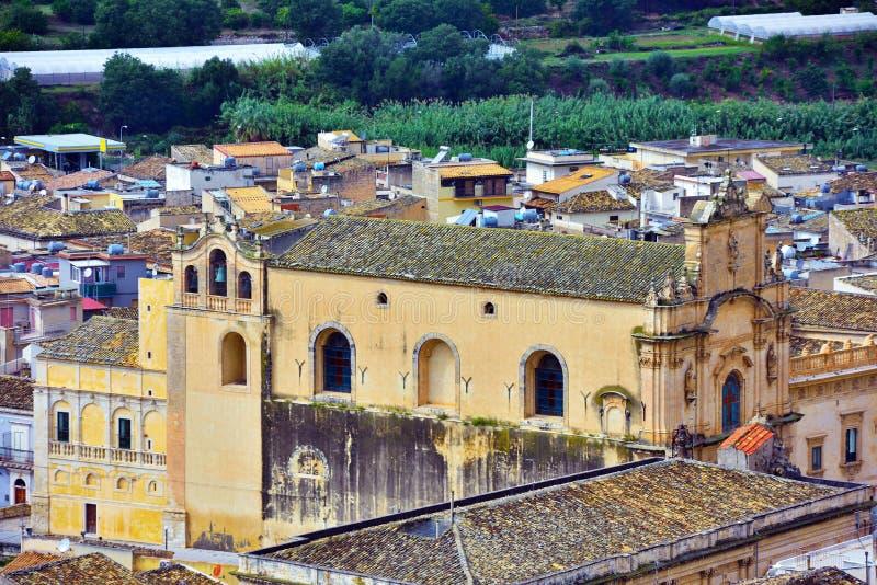 Scicli Sicile Italie photos libres de droits