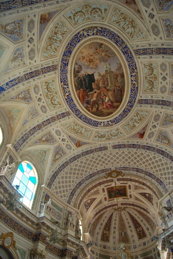 Scicli Sicilien, Italien royaltyfria foton