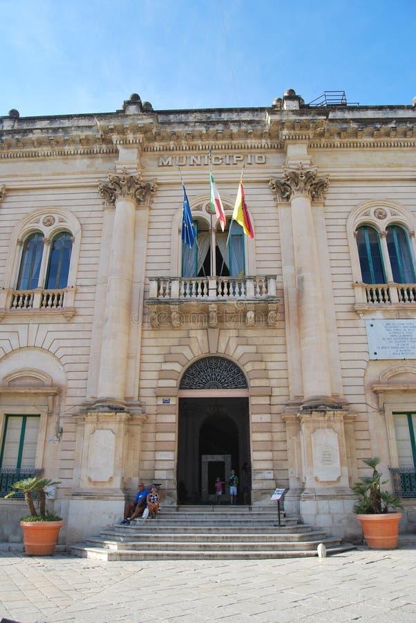 Scicli Sicilien, Italien royaltyfri fotografi