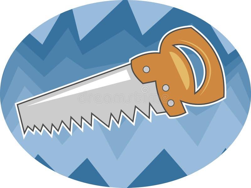 Download Scie illustration de vecteur. Illustration du dents, bord - 51181